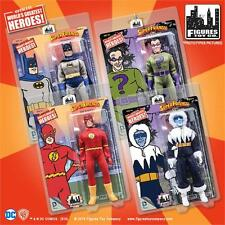 SUPER FRIENDS SERIES 3 & 4;  BOTH SETS  8 FIGURES ;8 INCH ACTION FIGURE IN STOCK