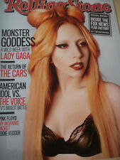 june 2011 ROLLING STONE #1132 Lady Gaga on SEXY cover