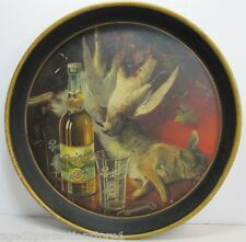 Antique Rainier Beer Tray Pre Prohibition 1900 era adv bird rabbit post hunt