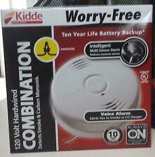 KIDDE WORRY FREE i12010SCO COMBINATION SMOKE AND CARBON MONOXIDE ALARM