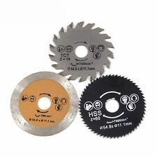 3pcs/set Tool 54.8 Mm Circular Saw Blade Metal Wood Cutting Disc Wheel