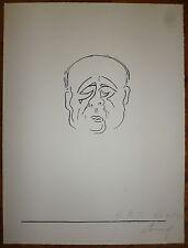 Etrog Sorel Lithographie originale signée 1969 art abstrait abstraction Canada