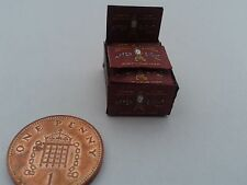 1/12 Scale Box of red After Eight mints for dollshouse miniatures