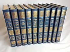 MARK TWAIN  CLASSICAL WORKS, 10 Volume Lot, EASTON PRESS
