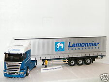 SCANIA STREAMLINE HIGHLINE TAUTLINER TRANSPORTS LEMONNIER ELIGOR 1/43 Ref 115488