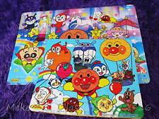 2pc SET Anpanman Puzzle Friends Soft Play Bath Time