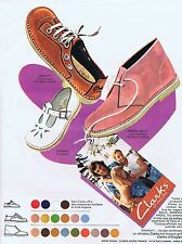 PUBLICITE ADVERTISING 045 1973 CLARKS of England chaussures
