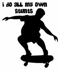 SKATEBOARD VINYL Wall DECAL Word art decor skate board