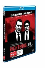 Righteous Kill  Collectors Edition (Blu-ray, 2009) New Region B