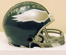 "Bill Bergey mini helmet - Philadelphia Eagles - ""1980 NFC Champs"" Inscription"