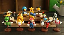 Super Mario bros jouet mini figurines Lot de 12pcs Neuf G6 Green