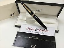 Montblanc Meisterstuck 146 Legrand Gold Line Fountain Pen  Never Been Used