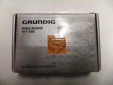 Weltempfänger GRUNDIG YB-P 2000 Design by FA PORSCHE WORLD RECEIVER