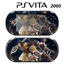 Vinyl Decal Skin Sticker for Sony PS Vita Slim 2000 Kingdom Hearts 2