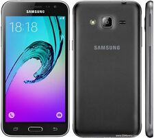 "Brand New Samsung Galaxy J3 2016 SM-J320F Black 5"" LTE 8GB 4G Factory Unlocked"