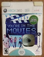 You're in the Movies Xbox 360 (Exclusive) Video Game & Camera. BRAND NEW!