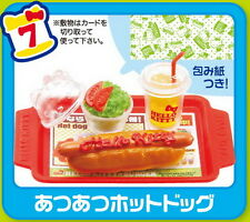 Re-Ment Miniature Restaurant Fast Food Hello Kitty Burger Shop rement RARE No.07