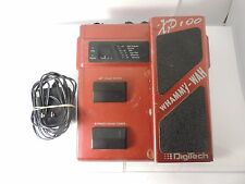 DIGITECH WHAMMY WAH XP100 EFFECT PEDAL OCTAVE DROP DE-TUNE w/ADAPTER FREE US S&H