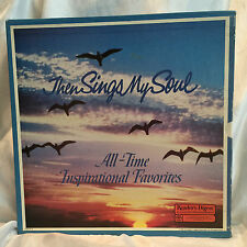 READER'S DIGEST ALL-TIME INSPIRATIONAL FAVORITES THEN SINGS MY SOUL 7 LP RECORDS