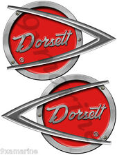 Two Dorsett Vintage Decals Vinyl Replica