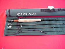 Douglas Outdoors 9ft Graphite DXF Fly Rod 4 Piece #6 Line GREAT NEW