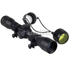 New Tactical 4 x 32 Air Rifle Optics Sniper Scope Reviews Sight Hunting Scopes
