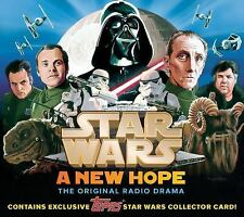 Star Wars: a New Hope - the Original Radio Drama, Topps Dark Side Collector's...