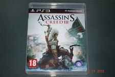 Assassin's Creed III PS3 Playstation 3 ** GRATIS UK FRANQUEO **