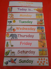 Handa's Surprise-Days of the week-  teaching resource -home/class/display