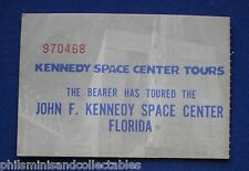 John F Kennedy Space Center Ticket  1970s