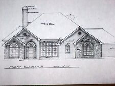 Custom Home Plan 3 Bed 2 Bath 1 Story 2729 A/C Sq. Ft 2 Car Garage 3741 TOTAL