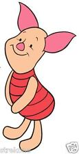 """PIGLET"" of ""Winnie The Pooh"" - Walt Disneys Cute Pig Window Cling Decal Sticker"
