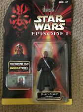 RARE Black Vest Variant Darth Maul (Jedi Duel) with Double-Bladed Lightsaber