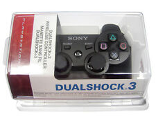 New Black Wireless Bluetooth Controller for PS3
