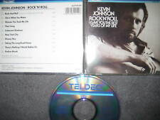 Rare CD Kevin Johnson Rock n Roll I Gave You The Best Years ----  fastway