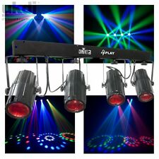Chauvet 4Play LED Lighting Effects Package Inc Case DJ 4 Pod Disco FX