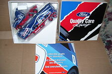 1994 Ford Quality Care Racing Bud Moore Winross Diecast Drop Bed Trailer Truck