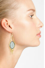 NEW Alexis Bittar Gold 'Elements - Maldivian' Feathered Drop Earrings.