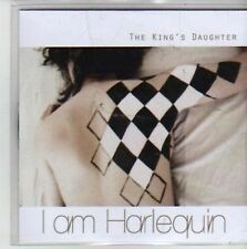 (CG928) The King's Daughter / The Liberty, I Am Harlequin - DJ CD