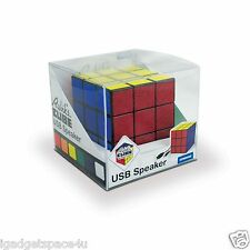 Spinninghat Retro Rubik's CUBE USB Powered Portable Speaker 5-watt