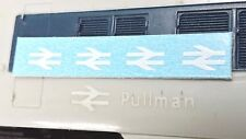 TRIANG HORNBY PULLMAN X4 BR ARROWS OO GAUGE TRAIN COACH TRANSFERS DECAL SPARES