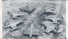 1964 NATO Airplanes French Mirage CF-104 F-104G Javelin F-105 Press Photo