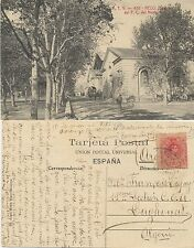 Tarjeta postal. A.T.V. 435. Reus (Tarragona). Estación de F.C. del Norte.