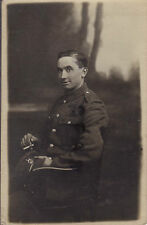 WW1 soldier The Kings Liverpool Regiment Liverpool smoking cigarette