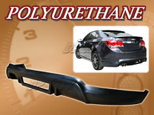 FOR 11-12 CHEVY CRUZE T-3 REAR BUMPER LIP BODY SPOILER KIT POLYURETHANE PU
