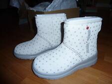 New UGG Australia I HEART UGG Kisses Mini Girls Fashion Boot White 4 US/ 35  EUR