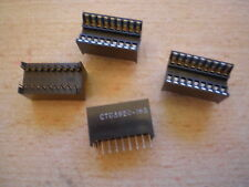 18 pin DIL burn in test socket  made by Midland Ross CTB3920-18S  4 pieces  Z571