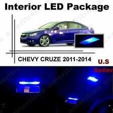 Blue LED Lights Interior Package Kit for Chevy Cruze 2011-2014  ( 6 Pieces )