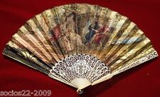 Fan Eventail Important Sticks And Paper Hand Fan Xviii st
