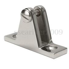 Marine Boat Deck Hinge Mount For Bimini Top Stainless Steel Fitting Hardware